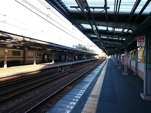 元旦の鶴ヶ峰駅−1.JPG
